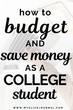 How to get through college without going broke! Here are the secrets to save money and budget in college (while still having a good time)! Budgeting tips for students and college students to save thousands in college! #savemoney #collegetips #budgetingcollege