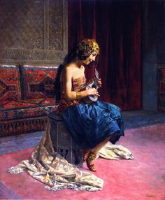 fleurdulys:  The Young Musician - Antonio Fabres