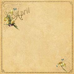 April Background