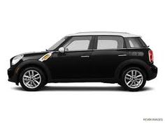 4 Door Mini Cooper Country Man - Black with white top - LOVE! -$23,000.00