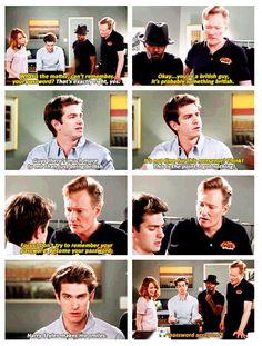 Andrew Garfield & Conan..smart mind think alike ;)