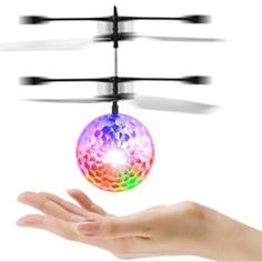 YKS Flying Ball,Children Flying Toys,infrared Induction Helicopter Ball Built-in Shinning Color Changing LED Lighting for Kids,Teenagers Best Christmas Gifts, Christmas Birthday, Christmas Fun, Best Gifts, Christmas Bulbs, Electric Scooter For Kids, Novelty Toys, Best Birthday Gifts, Color Changing Led