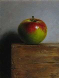 Complementary apple by michael naples apple painting, fruit painting, acrylic painting inspiration, still Apple Plant, Fruit Painting, Apple Painting, Still Life Oil Painting, Still Life Art, Fruit Art, Art Graphique, Still Life Photography, Acrylic Art