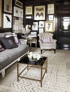 sophisticated living space | { ideas for home }