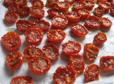 Make Oven-Dried Cherry Tomatoes as Your Next Topping