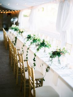 White and Green Wedding Colors | photo by @Rachel Solomon Photography