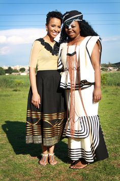 The traditional ensembles I did for a traditional Xhosa wedding. I love Africa. #ilovedressingup