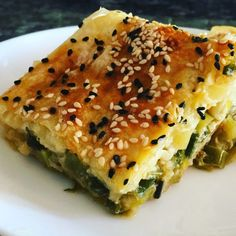 41 Burrito Presentation Ideas – Food - All Recipes Leek Pie, Homemade Beauty Products, Spanakopita, Burritos, Allrecipes, Quiche, Cooking Recipes, Vegetarian, Nutrition