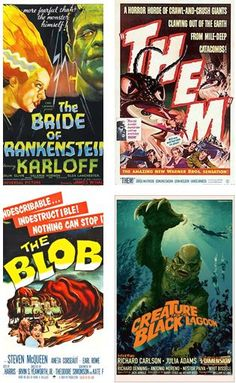 NEW! Retro Monster Madness, Sundays in October at 2 pm.  Join us for a selection of classic monster movies on our new jumbo screen. Preregistration is required. October 1-Bride of Frankenstein (1935). October 15- Them! (1954). October 22 - The Blob (1958). October 29 - The Creature from the Black Lagoon (1954).