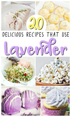 Looking to mix things up in the kitchen? Here are 20 recipes that use lavender that will inspire you to try cooking with lavender.