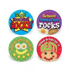 Celebrate School Breakfast Stickers $6.95