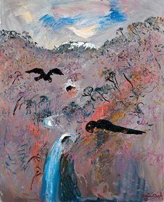 arthur boyd Abstract Landscape, Landscape Paintings, Abstract Art, Landscapes, Australian Painting, Australian Artists, Paintings Famous, Paintings I Love, Arthur Boyd
