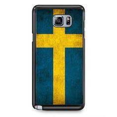 Sweden Flag TATUM-10412 Samsung Phonecase Cover Samsung Galaxy Note 2 Note 3 Note 4 Note 5 Note Edge