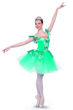 Tutus in bright hues like this one by A Wish Come True Dance Costumes are perfect for a spring recital. #FashionFriday