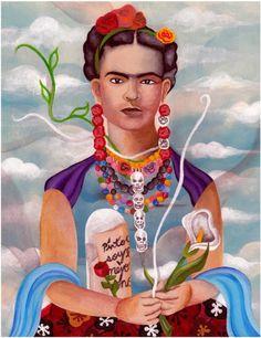 Untitled (Portrait of Frida Kahlo), Jackson Brown