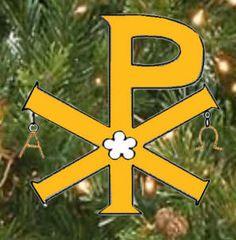 Christian symbols - ornaments for church tree, explanation of religious symbols, templates