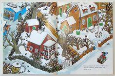 An illustration by Ilon Viklund for Lotta på Bråksmarkagatan or Lotta on Troublemakerstreet