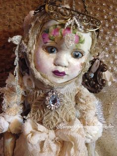 Assemblage Doll Made By: Laura Beining-Tollander