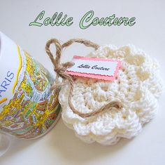 Creamy Tea Coaster Set  Ivory Coffee Coasters  by lolliecouture, $10.50
