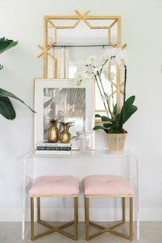 Family room details | Lanai Mirror via Serena & Lily | Image via Palm Beach Lately