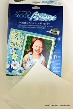 Craft Product Review: Scrapbooking Attitude (Shoe Attitude) by Avatrex | Craft Test Dummies