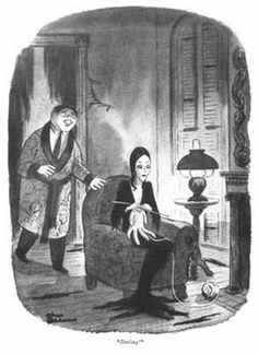 The Addams Family was created by a cartoonist named Charles Addams,
