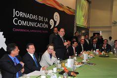 Duarte de Ochoa expresó que los representantes de los medios de comunicación significan el profesionalismo, la entrega y el ánimo de una sociedad como la nuestra de ir hacia adelante, de cada vez ser mejores.