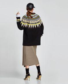 画像 6 の オーバーサイズジャガードセーター ザラから