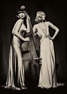 more examples of womens dresses. again they werent very figure hugging, yet were still seen as quite alluring