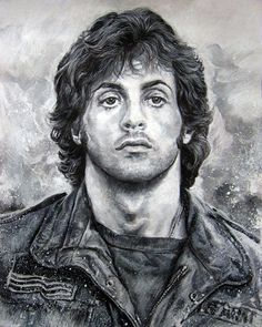 Portrait Mastery Sylvester Stallone 캐리커처 (caricature) Discover The Secrets Of Drawing Realistic Pencil Portraits