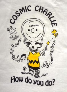 Cosmic Charlie Grateful Dead Tee Shirt Jerry by southofmotown