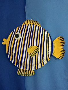 paper plate fish                                                                                                                                                     More