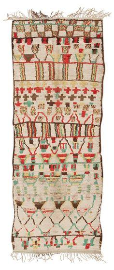 Vintage Moroccan Rug #45616  http://nazmiyalantiquerugs.com/antique-rugs/moroccan-rugs-vintage-carpets/