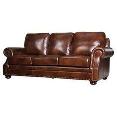 Karrington Leather Sofa
