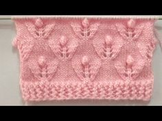 New Beautiful Knitting Pattern For Baby And Ladies Sweater Lace Knitting Patterns, Knitting Stiches, Knitting Videos, Knitting Designs, Baby Knitting, Stitch Patterns, Crochet Tools, Crochet Yarn, Knit Baby Sweaters