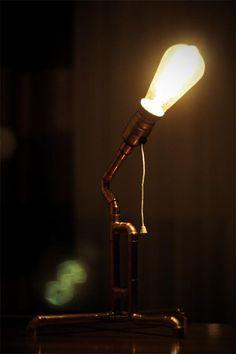 Lampa do sypialni lub salonu LOFT INDUSTRIAL (Dom i Ogród Wyposażenie Oświetlenie Lampy)