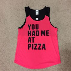 VS PINK TANK Size XS  Can fit a small NWT  Very cute PINK Victoria's Secret Tops Muscle Tees