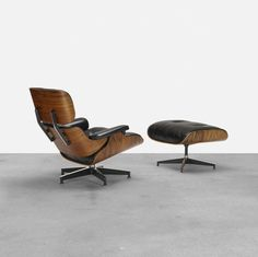 Eames Lounge Chair and Ottoman in Rosewood by @hermanmiller