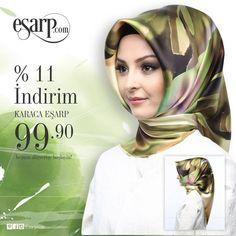 Doğanın temel renkleri olan yeşil ve kahverenginin ipeksi hali, Karaca markasıyla sizi bekliyor!