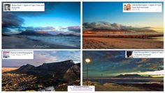 Collage of some of most gorgeous pics of Table Mountain, #capetown;unique perspectives by photographers. Breathtaking Embedded image permalink