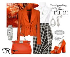"""""""Fall Work Wear"""" by tamt-shop on Polyvore featuring Aganovich, Greylin, Gucci, Dsquared2, Fendi, Tom Ford, Finn, Belk & Co. and London Road"""