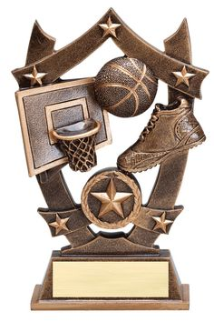 An Economical Action Star Bronze and Gold Spark Plug Icon Award with room for an Engraving Plate Basketball Trophies, Sports Trophies, Trophy Shop, Star Trophy, Award Plaques, Crystal Awards, Acrylic Awards, Metal Projects, Sports Stars