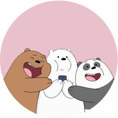 we bare bears Cute Panda Wallpaper, Bear Wallpaper, Cute Disney Wallpaper, Cute Wallpaper Backgrounds, We Bare Bears Wallpapers, Panda Wallpapers, Cute Cartoon Wallpapers, Ice Bear We Bare Bears, We Bear