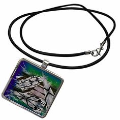 3dRose Jos Fauxtographee Abstract - Triangular Chain Link…