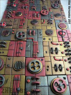 polymer clay inchies [Flickr: Zhellas - Alex]