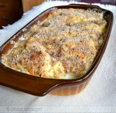 Krémes galuska Hungarian Desserts, Hungarian Recipes, Sweet Recipes, Cake Recipes, Dessert Recipes, Delicious Desserts, Yummy Food, Twisted Recipes, Salty Snacks