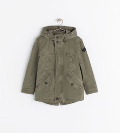 ZARA, PARKA WITH DETACHABLE LINING for KIDS.. LOVE IT!..