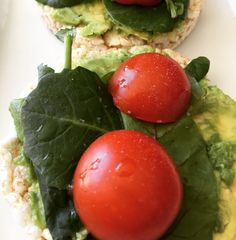 I am changing up my avocado toast this week with rice cakes.  It's just as good! #healthyfood #healthyeating #avocadotoast #veegmama