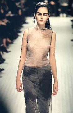 Ann Demeulemeester Spring / Summer 1998 |  Danielle Zinaich