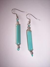 Teal and silver elegance